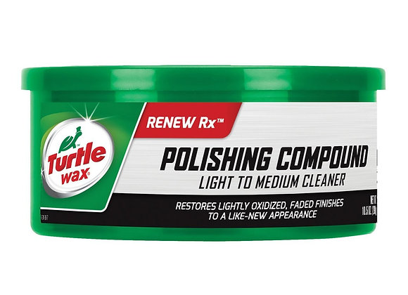 Turtle Wax Polishing Compound & Scratch Remover Paste, 10.5 oz.
