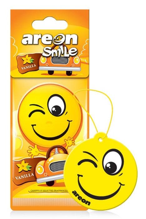 Areon Smile Emoji Air Fresheners, 12-Pack