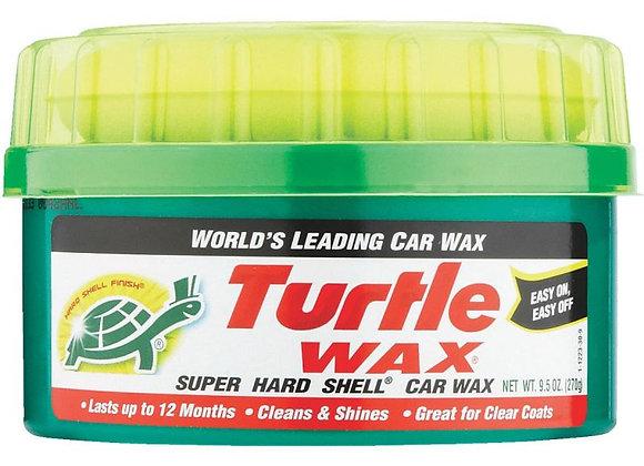 Turtle Wax Super Hard Shell Paste Wax, 9.5 oz.