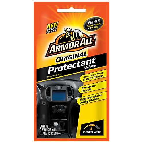 ArmorAll Wipes, 2 Pack
