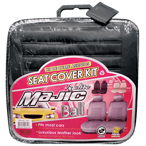 Majic Seat Cover Kit, 2 Pcs