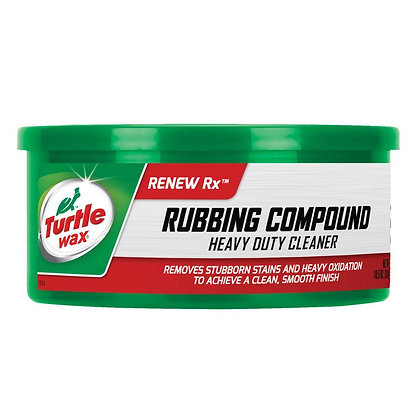 Turtle Wax Rubbing Compound and Heavy Duty Cleaner, 10.5 oz.
