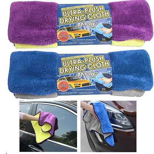 Majic Microfiber Ultra-Plush Drying Cloth, 2-Pack