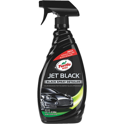 Turtle Wax Jet Black Spray Detailer, 23 oz.