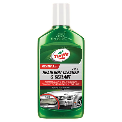 Turtle Wax 2-in-1 Headlight Cleaner and Sealant, 9 oz.