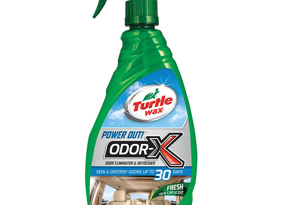 Turtle Wax Power Out! Odor Eliminator & Refresher, 23 oz.