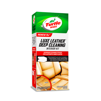 Turtle Wax Luxe Leather Deep Cleaning Interior Kit