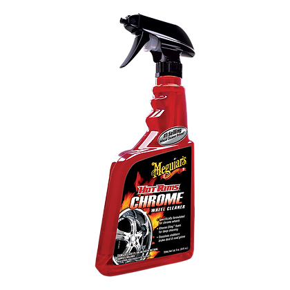 Meguiar's Hot Rims Chrome Wheel Cleaner Spray, 24 oz.