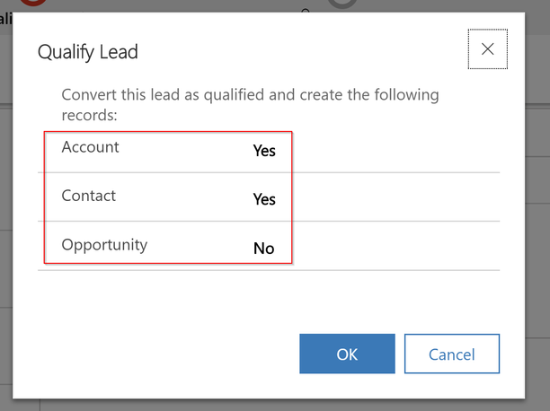 New Old Qualify Lead Experience