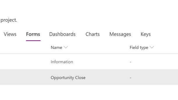 Customise Close Opportunity Dialog