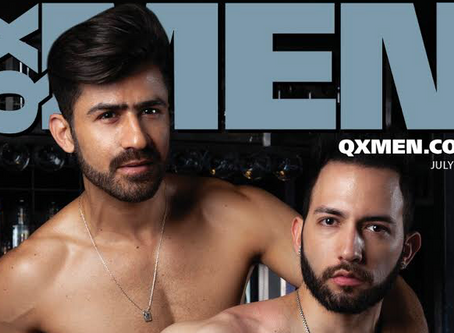 Pleasuredrome is on the cover of July's issue of QX Men