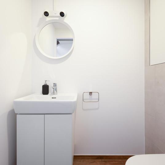 Toilette im Unterschoss
