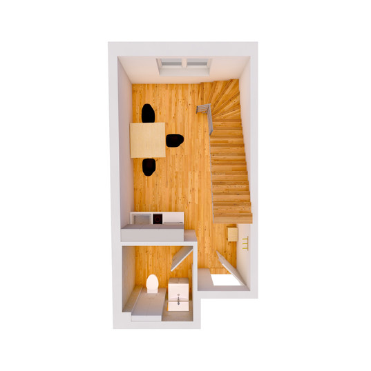 3D Plan Untergeschoss