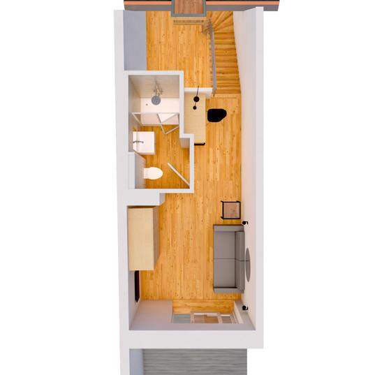 3D Plan Obergeschoss