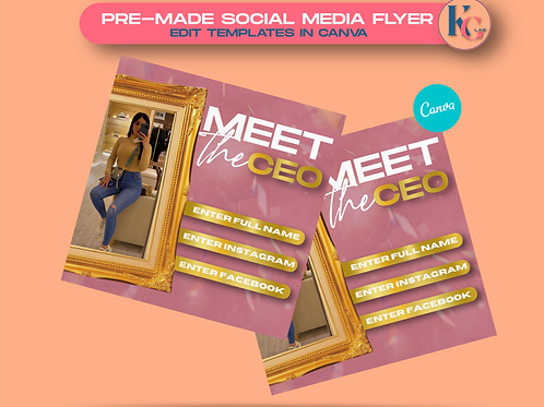 Meet the CEO ( Pink & Gold )