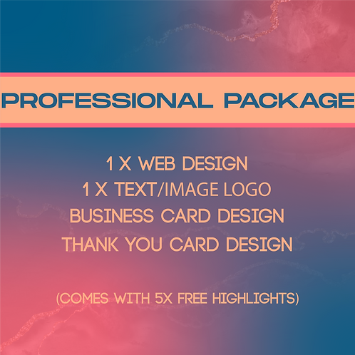 Professional Package