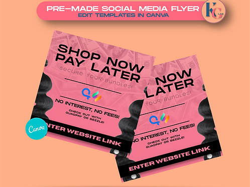 Shop Now, Pay Later (Pink)