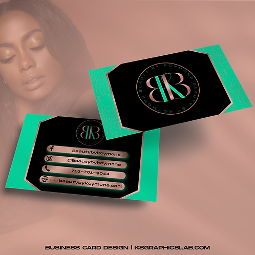 Business Card Design (2 Sided)