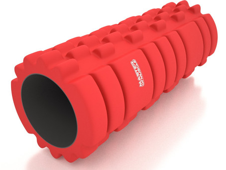 Keep your muscles loose with a foam roller