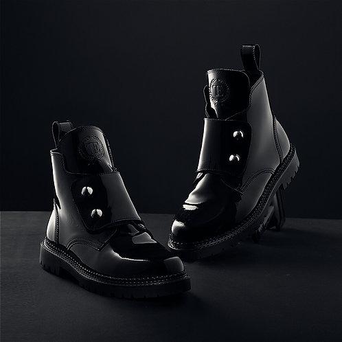 Black Lacquer Boots