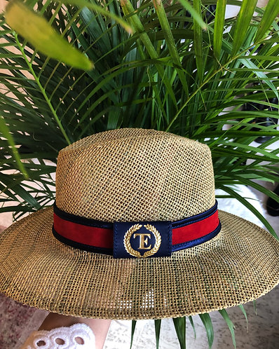 Summer Hat with leather strap