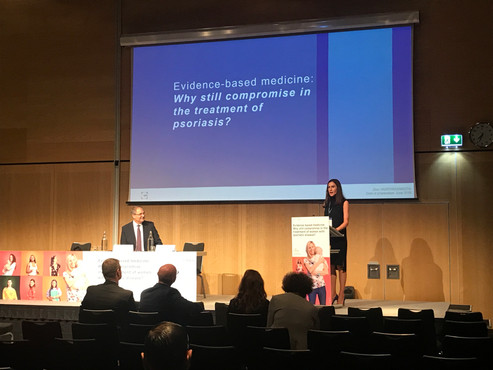 Discussing the Management of Psoriasis in Pregnancy and Breastfeeding at the 5th World Psoriasis and