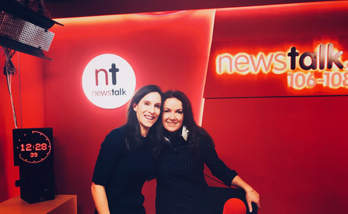 Discussing skin health on Newstalk's Lunchtime Live with Dr Ciara Kelly: your skincare questions