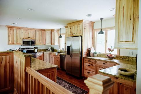 Hickory kitchen