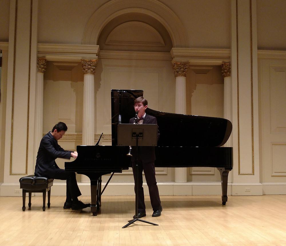 Carnegie Hall Performance
