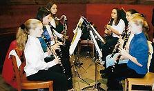 clarinet ensemble in Sharon, MA