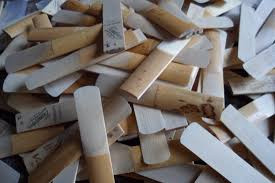Organize your reeds! (reed tips for young students)
