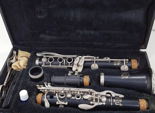 Time to get the clarinet out of the case!