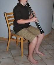 clarinet posture