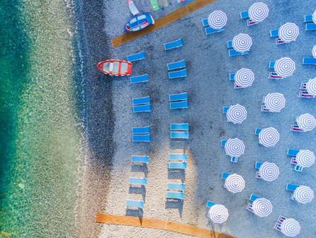 Spiaggia dall'alto