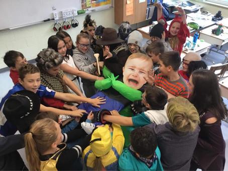 Halloween en folie à l'école Bruyère / St-Charles!