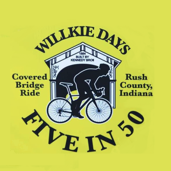 Willkie Days 5 in 50 Bike Ride, presented by Rush County United Fund