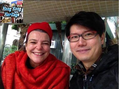 香港電台RTHK《Hong Kong Hertiage》Anne Marie訪問
