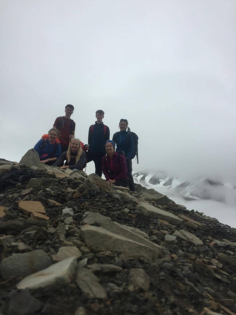 Longyearbreen glacier