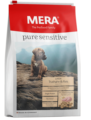 MERA pure sensitive | Junior | Pavo y Arroz  | 4 y 12.5 Kg
