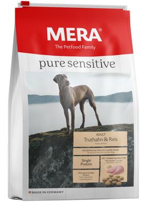 MERA pure sensitive | Adulto | Pavo y Arroz | 4 y 12.5 Kg