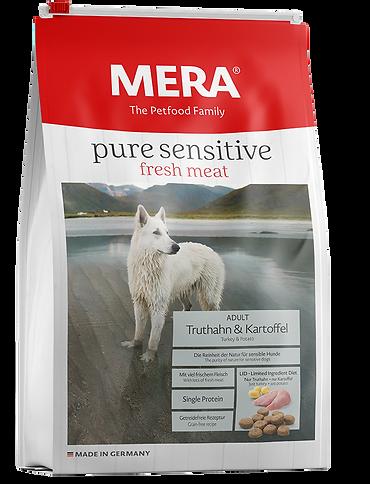 MERA pure sensitive fresh meat pavo y pa
