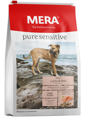 MERA pure sensitive | Adulto | Salmón y Arroz | 4 y 12.5 Kg
