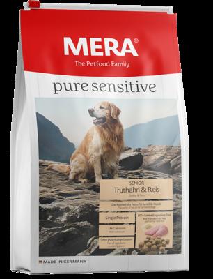 MERA pure sensitive | Senior | Pavo y Arroz | 4 y 12.5 Kg