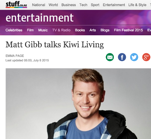 Matt Gibb talks Kiwi Living