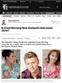 Is Good Morning NZ's best music show