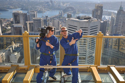 Directing on the Sydney Tower Eye