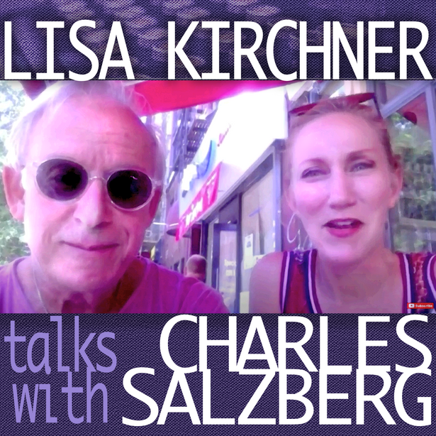 VIDEO: LISA KIRCHNER TALKS WITH Charles Salzberg