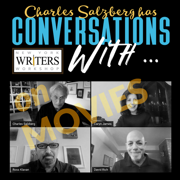 VIDEO: CONVERSATIONS WITH … Caryn James, Ross Klavan & David Rich