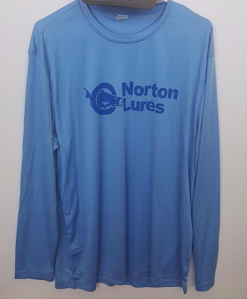 Norton Lures Light Blue Long Sleeve Shirt
