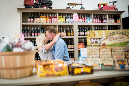 Candy Store Engagement
